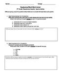 FSA and PARCC Test Prep - Unit 3 BUNDLE - Grade 3 Journeys Vocabulary Readers