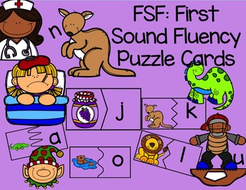 FSF: First Sound Fluency Puzzle Cards
