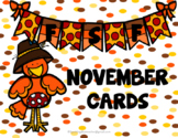 FSF November Matching Cards