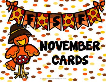 FSF November Matching Cards