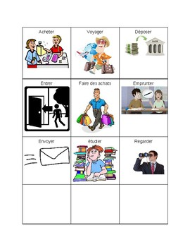 FSL 9 - La communauté vocabulary cards for games, review, and more!