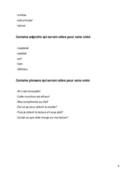 FSL Cafe Workbook