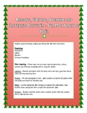 FSL Christmas Reading, Listening, Speaking and Writing Activity - Sapin de Noël
