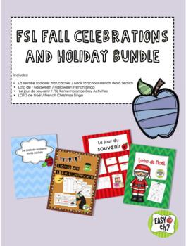 FSL Fall Celebrations and Holiday BUNDLE