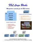 FSL French Lingo Blocks