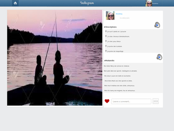 FSL French Instagram Profile Template