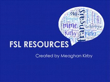 FSL Les Pronoms Compléments d'objets Directs et Indirects