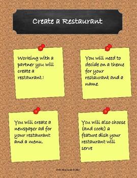 FSL Restaurant Assignment