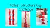 FSL STEM Challenge Card for A2-B1 Learners:Tallest Structu