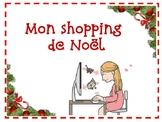 FSL authentic task (tâche authentique):  Mon shopping de Noël