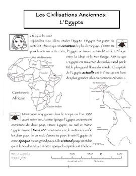 FSL l'Egypte Ancienne Introduction
