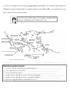 FSL la Grèce Ancienne Introduction