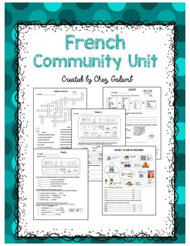 Community Unit (en ville/ communauté) -  French/FSL