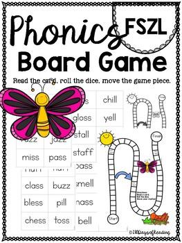 FSZL PHONICS BOARD Game