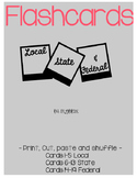 FTCE Local, State, and Federal powers Flash Cards