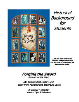 FTS Independent History Unit - Historical Background for Students