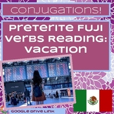 FUJI Irregular Preterite Reading