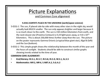 """FULL 5th Grade Next Generation Science Posters (Common Core Align) """"I Can..."""""""