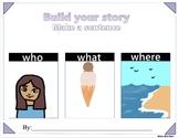 FULL BUILD A STORY Sentence Maker