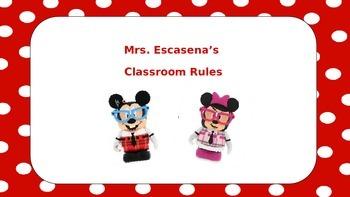 FULL: Disney Nerds Classroom Rules