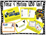 Force & Motion UBD Unit/Lesson Plans (Classroom Ready)
