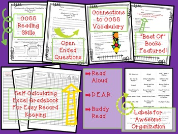 Reading Comprehension All-in-One BUNDLE, Levels .05-4.9 Comprehension Library