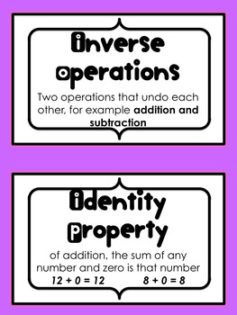 Addition and Subtraction of Multi-Digit Numbers Kit