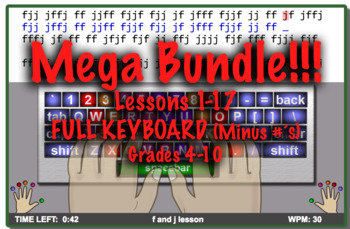 MEGA Keyboard Typing Bundle: Includes Packet #1-3 SAVE MON