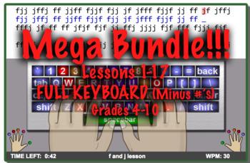 MEGA Keyboard Typing Bundle: Includes Packet #1-3 SAVE MONEY HERE!!!