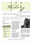 FULL LESSON - Emily Kame Kngwarreye - History Lesson - Aus