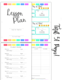 FULL Lesson Planner-51 Pages
