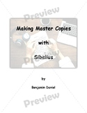 FULL Making Master Copies with Sibelius