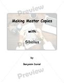 FULL Making Master Copies with Sibelius