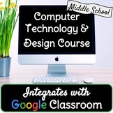 Computer Technology Course Bundle - Google Classroom - FRE