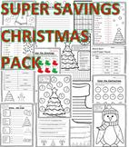 2nd Christmas 2nd Math, Language, & Writing Christmas Second Grade Christmas 2nd