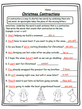2nd Christmas 2nd Math, Language, & Writing Christmas Second Grade Christmas 2nd