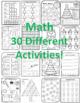 3rd Christmas 3rd Math, Language, & Writing Christmas Third Grade Christmas 3rd