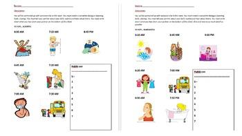 FULL SPANISH UNIT PLAN & activities- Mi vida diaria (Daily