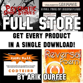 FULL STORE BUNDLE - Get Every Product in My Store!