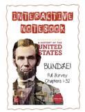 FULL SURVEY (Full year or 2 year) BUNDLE! History of the U