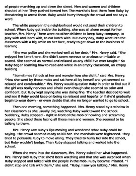 FULL TEXT - The Story of Ruby Bridges by Robert Coles - Cold Read