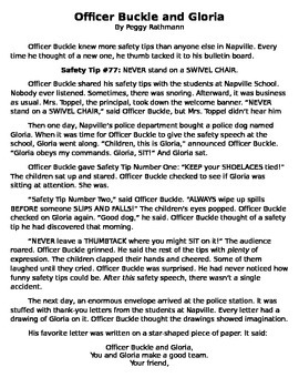 FULL TEXT - Officer Buckle and Gloria by Peggy Rathmann - Cold Read