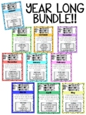 FULL YEAR BUNDLE! Rooted in Reading 3rd Grade Vocabulary PP Distance Learning