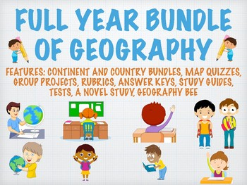 FULL YEAR OF GEOGRAPHY, BUNDLES, UNITS, PROJECTS