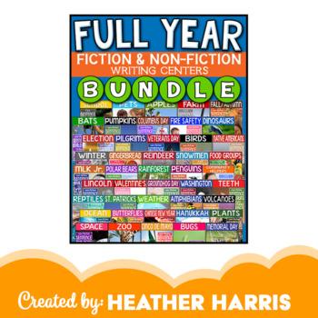 FULL YEAR: Sentence Builder BUNDLE {non-fiction MINI books}
