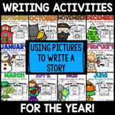 FULL YEAR of Writing Activities: Using Pictures to Write a Story
