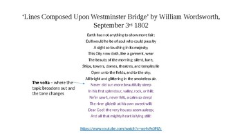 FULL self-contained observed lesson: comparing Blake & Wordsworth's London poems