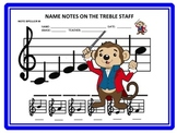 FUN --BIG NOTE SPELLER WORKSHEET! W Answer Key! GREAT FOR SUBS!