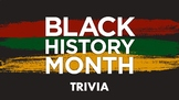 FUN Black History Trivia for KIDS (Pics and Video)