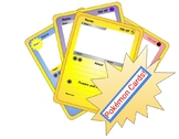FUN Blank Pokémon Cards: Book Characters, Myths, History, Student Bios/Bulletins